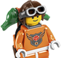 Level Three Master Builder Academy Minifigure