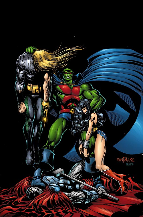 Martian Manhunter Vol 2 6 Dc Database Wikia