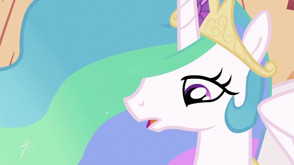 Angry Princess Celestia Princess Celestia Talking