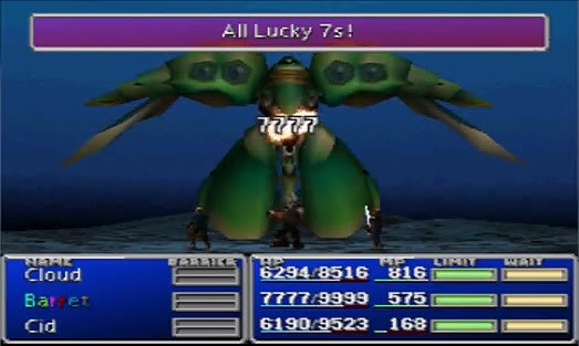 final fantasy 7 lucky 7