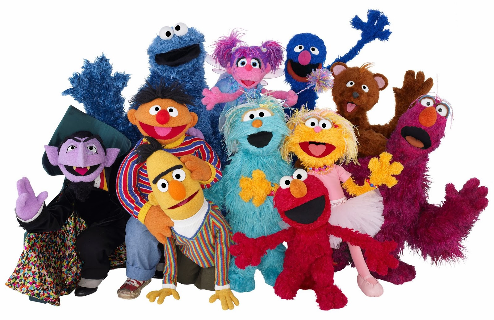 Baby Sesame Street Characters Names with their own characters