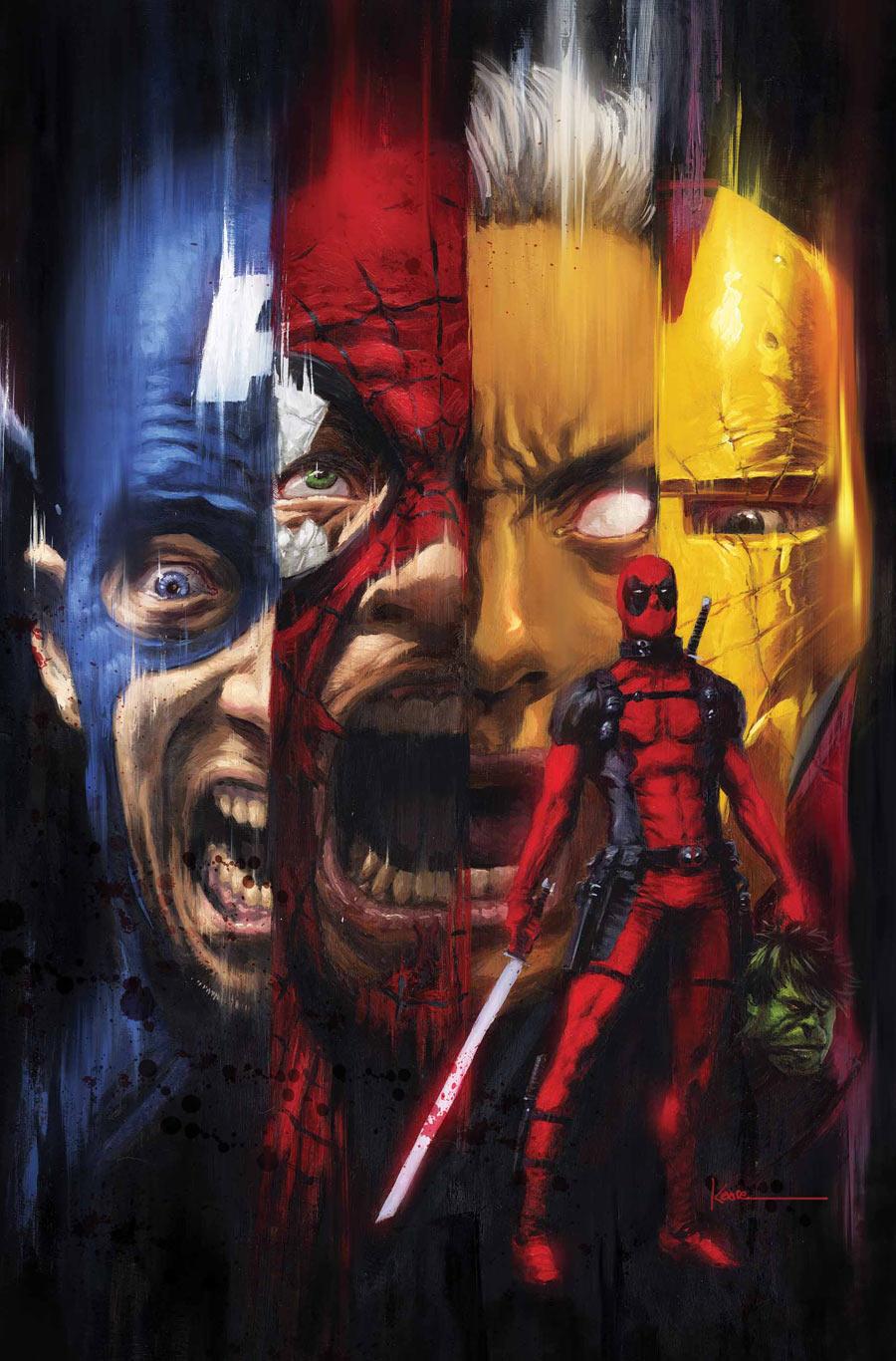 Deadpool Kills The Marvel Universe Iron Man Deadpool Kills the Marvel