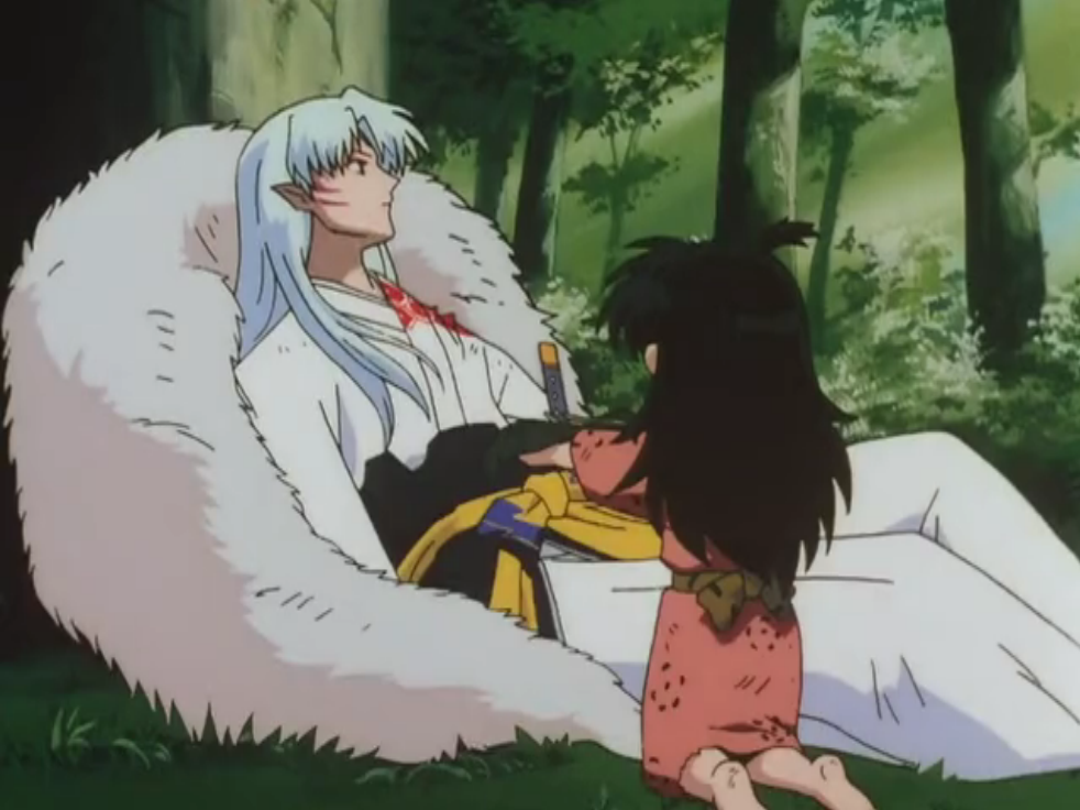 sesshomaru and rin first meet episode