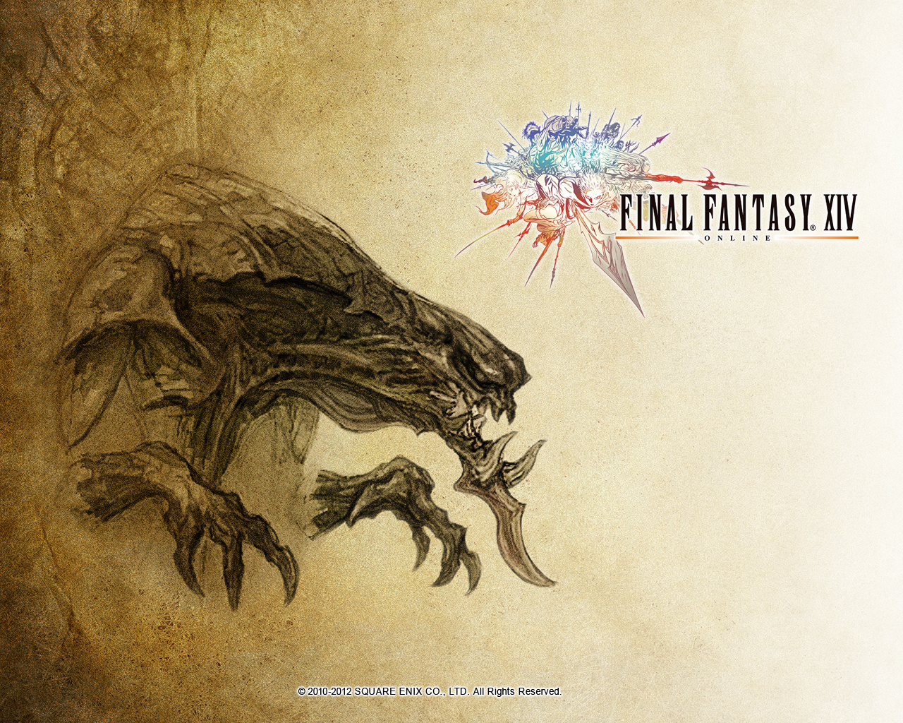 Image ffxiv wallpaper 1280x1024 demon the final fantasy wiki 10 years of having - Ffxiv wallpaper 1080p ...