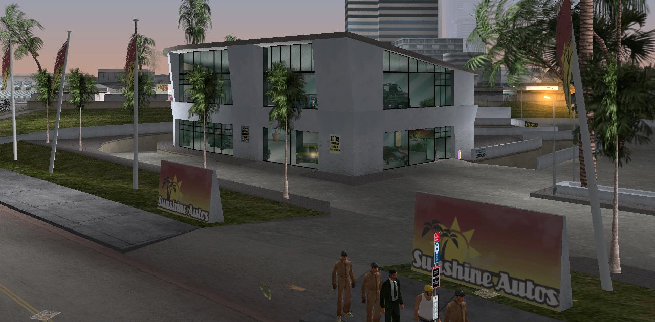 Sunshine autos grand theft wiki grand for Garage auto city cadaujac