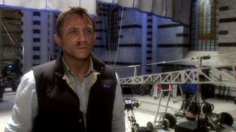 Quantum of Solace (2008) - Featurette Behind the scenes