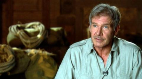 "Indiana Jones And The Kingdom Of The Crystal Skull (2008) - Interview Harrison Ford ""On wearing the Indy costume"""