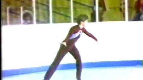 Paul Wylie (USA) - 1981 World Jrs., Men's Long Program