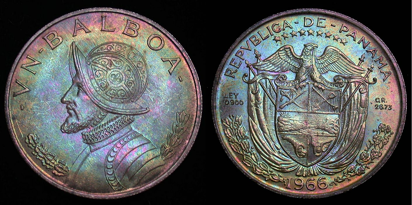 Panamanian 1 Balboa Coin Currency Wiki The Online Numismatic Encyclopedia