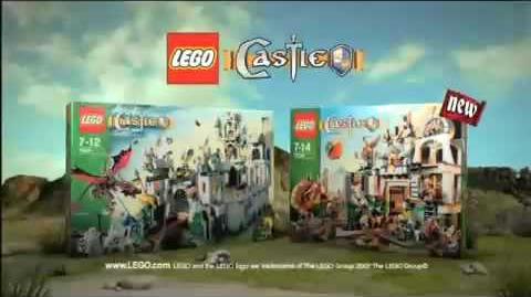 Lego Castle dwarf mine commercial