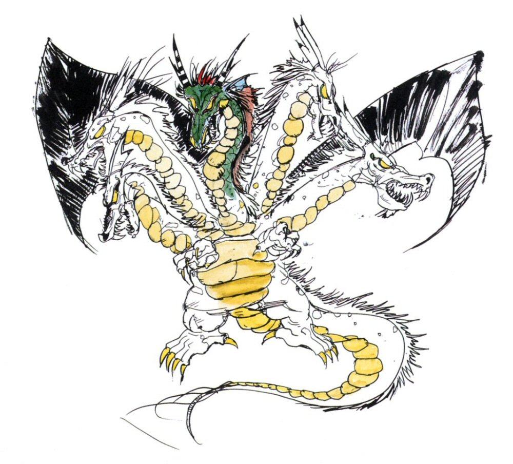 Final Fantasy x Artwork Artwork From Final Fantasy ii