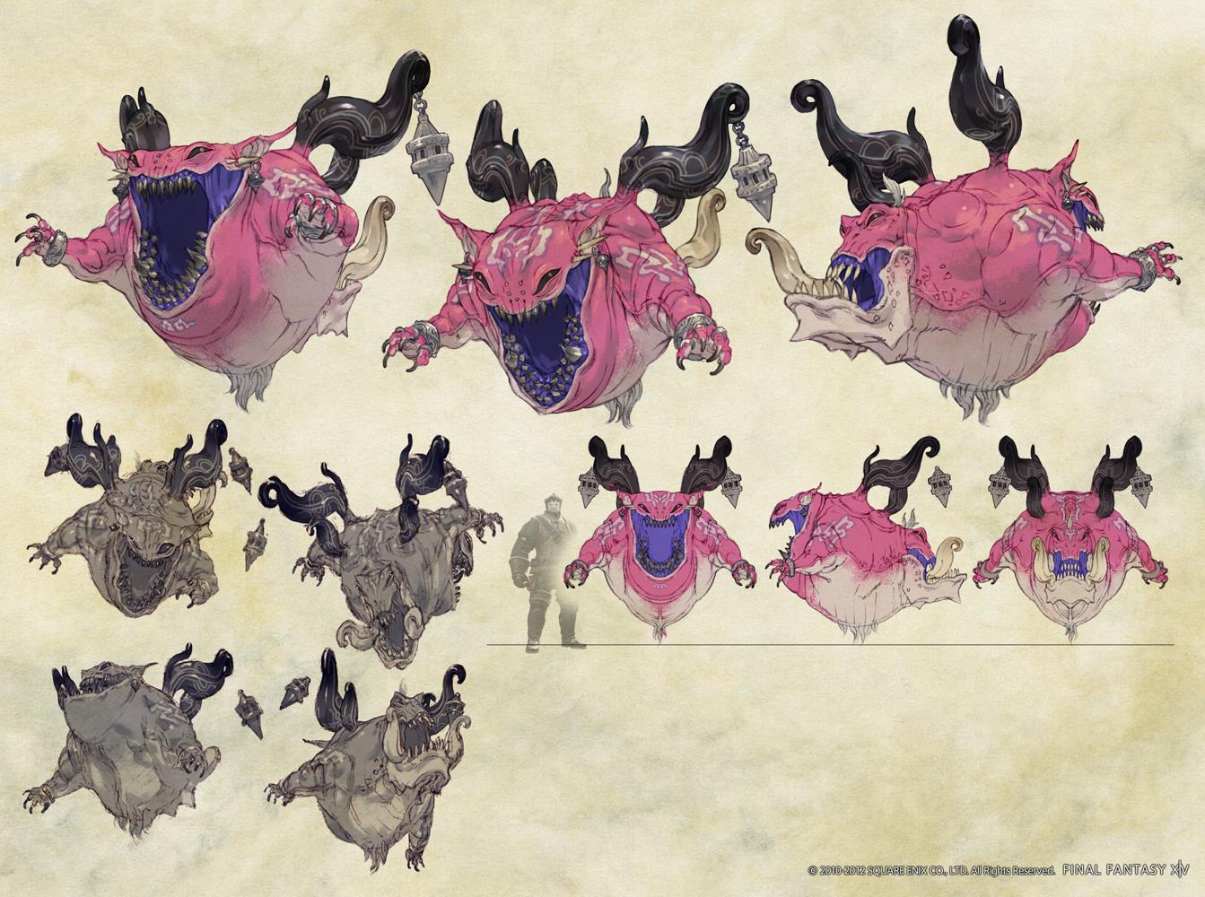 Final Fantasy x Artwork Typhon Artwork For Final