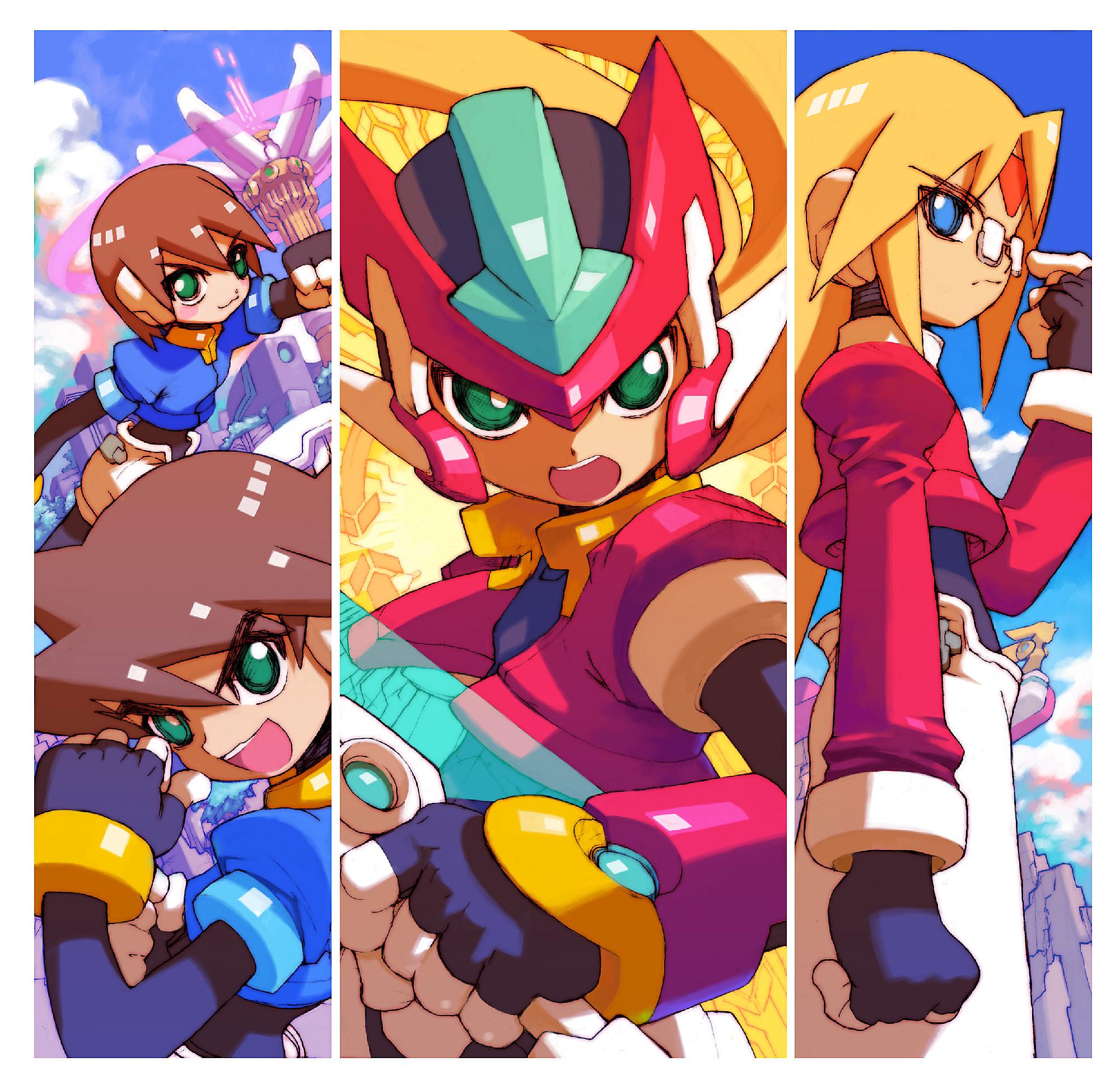 Megaman zx for Megaman 9 portada