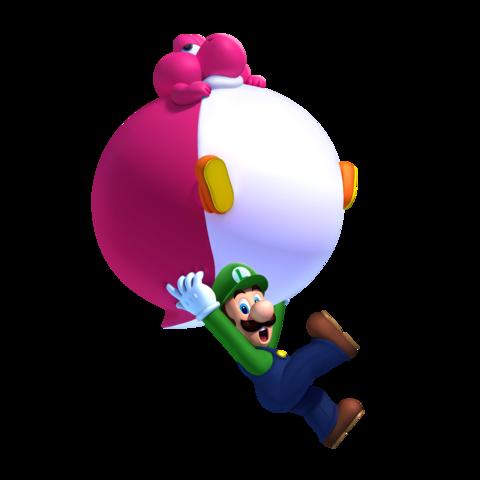 Guía New Super Mario Bros U Luigi_y_Bebe_Yoshi_de_globo