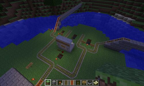 Minecart Track Switcher Creation:minecart Track