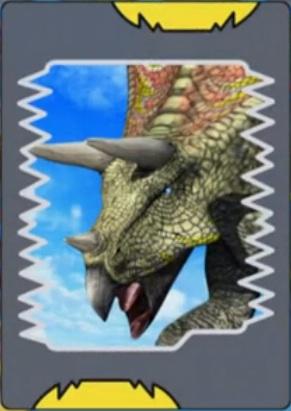 Torosaurus card jpgDinosaur King Megalosaurus Card