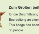 Auszeichnungen (Badges) - Erläuterungen
