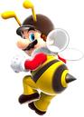 Bee Mario Artwork - Super Mario Galaxy.png