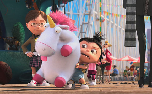 Despicable Me - its so fluffy