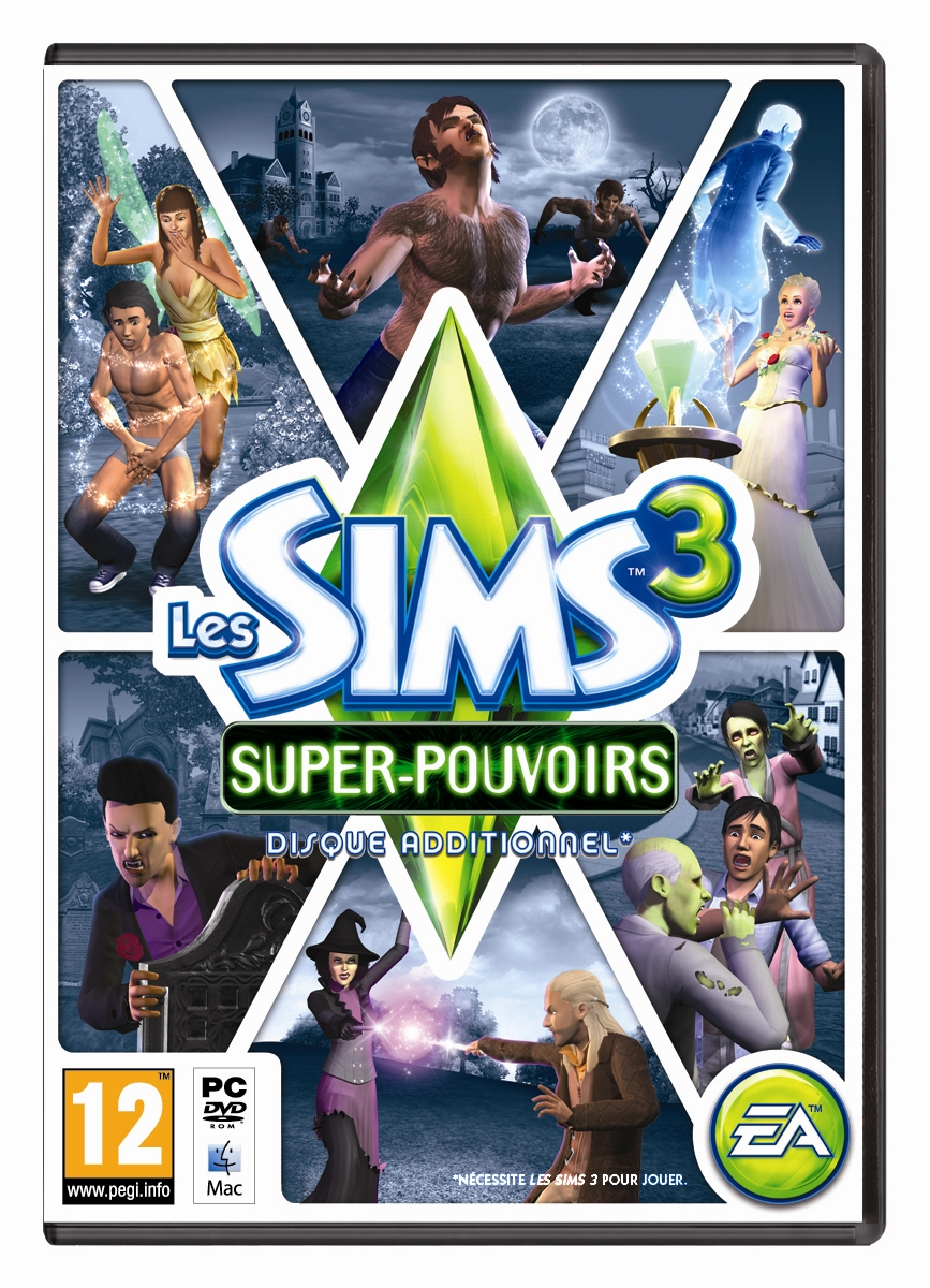 Les Sims 3 Showtime Edition Collector Katy Perry: Les Sims 3: Super-pouvoirs