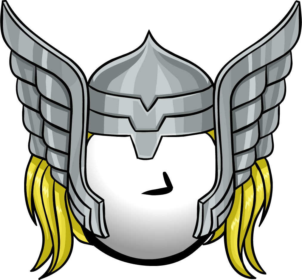 Thor Helmet Club Penguin Wiki The Free Editable