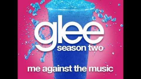 Glee - Me Against The Music (DOWNLOAD MP3 LYRICS)