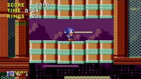 Sonic the Hedgehog Spring Yard Zone Act 1