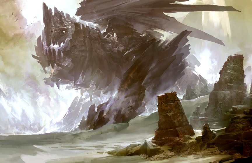 Image - Dragon 07 concept art (Rock Dragon).jpg - Supreme ...