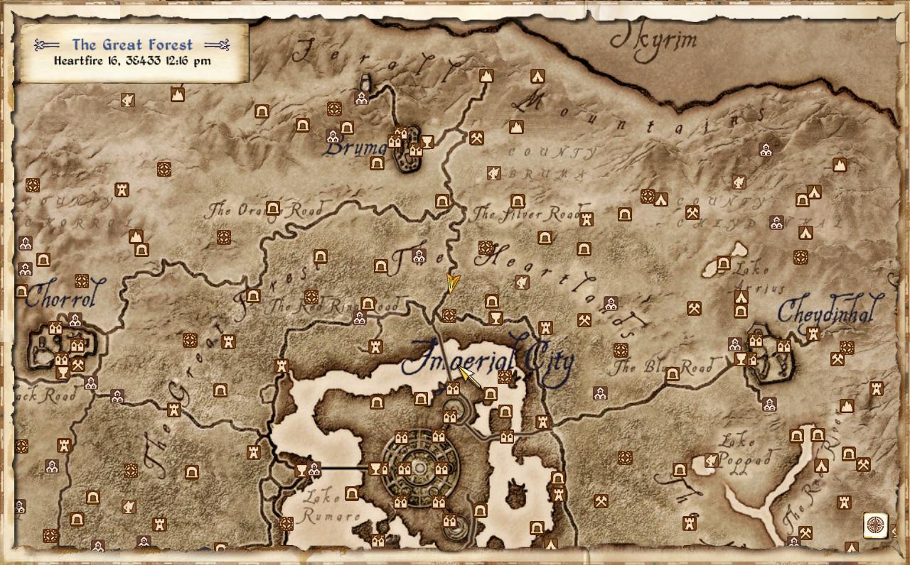 Oblivion World Map. Oblivion. free download images world maps