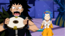 Gajeel wanting to eat the clock part.png