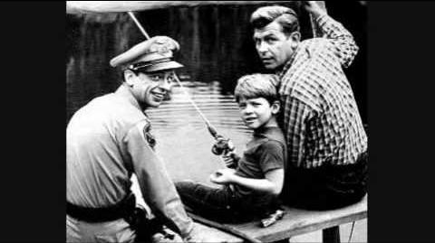 Andy Griffith sings TV Show Theme Song.