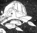 Senbei's spaceship