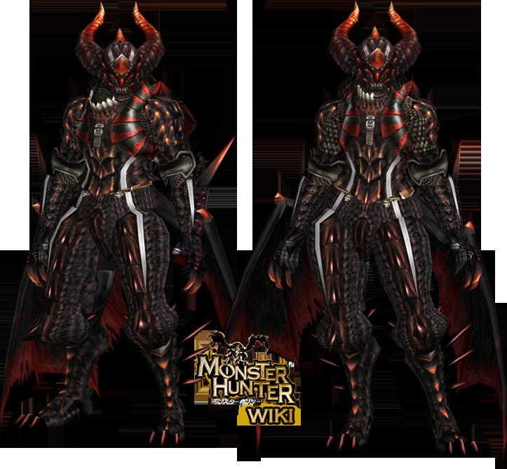 Fatalis Z Armor (Gunner) - The Monster Hunter Wiki - Monster ...