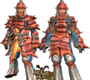 MHFU: G Rank Blademaster Armors