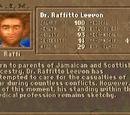 "Dr. Raffitto ""Raffi"" Leevon"