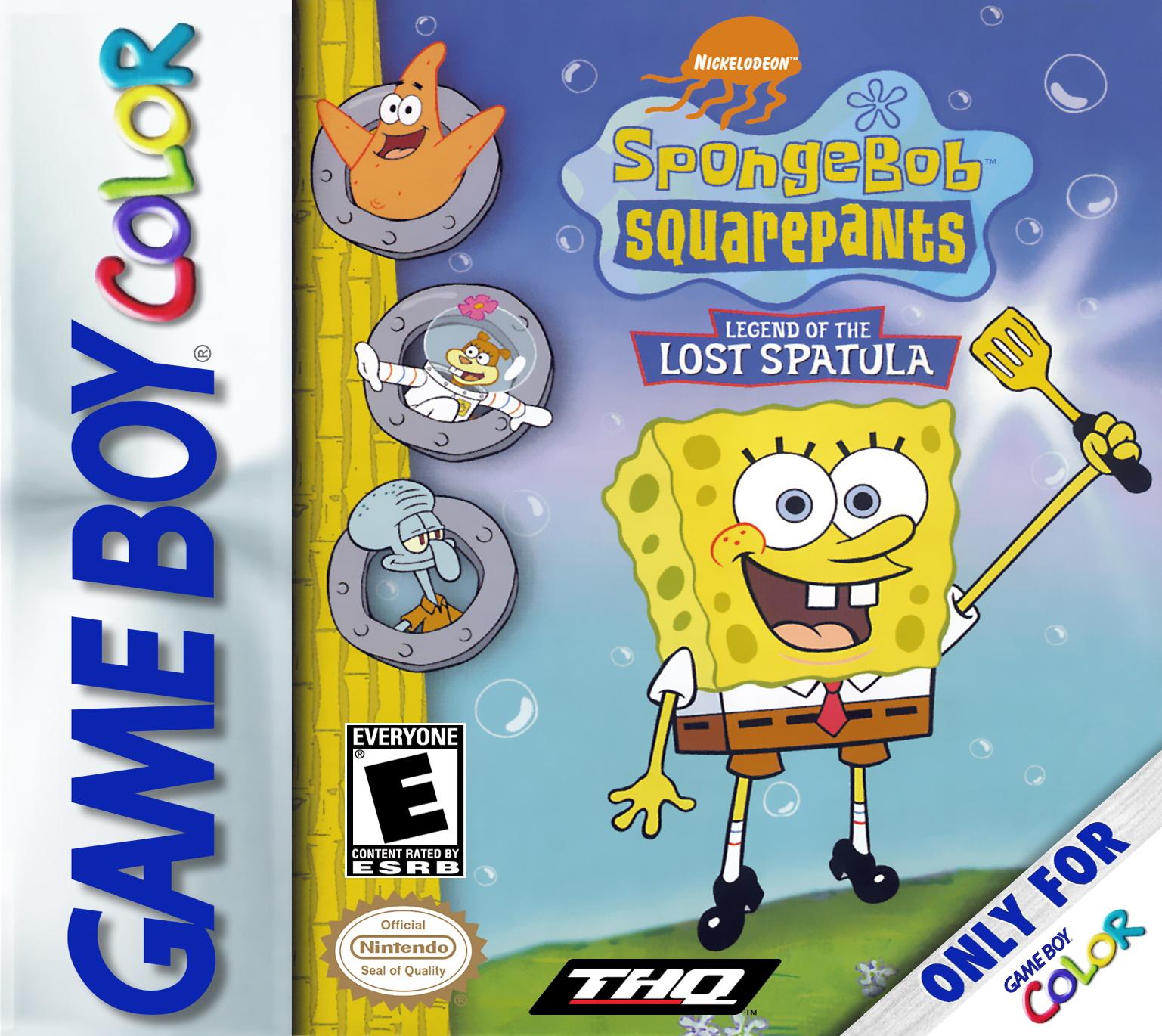 Legend Of The Lost Spatula Encyclopedia Spongebobia