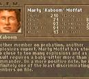 "Marty ""Kaboom"" Moffat"