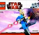 30004 Battle Droid on STAP