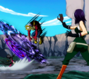 Mirajane Strauss, Elfman Strauss & Lisanna Strauss vs. Mary Hughes