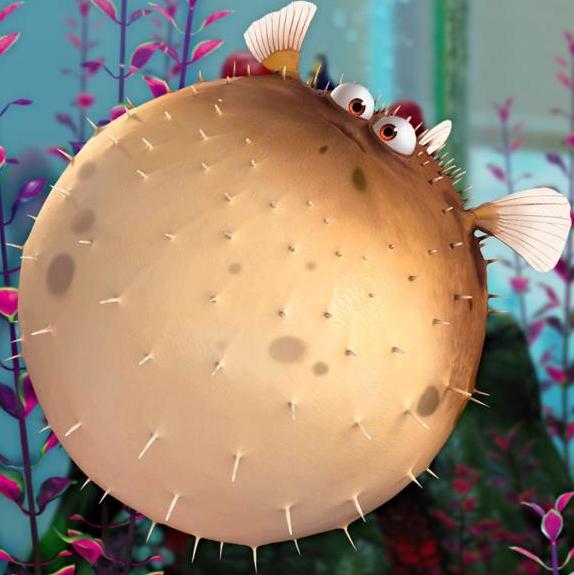 Good Morning Everyone Finding Nemo : Bloat disney wiki