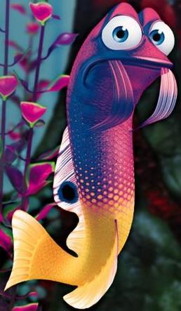 Gurgle disney wiki for Disney fish names