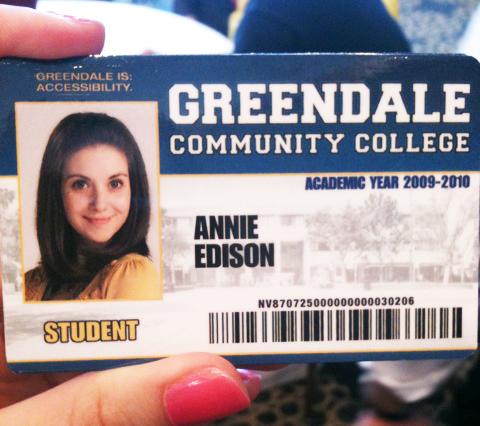 Greendale ID card - Community Wiki