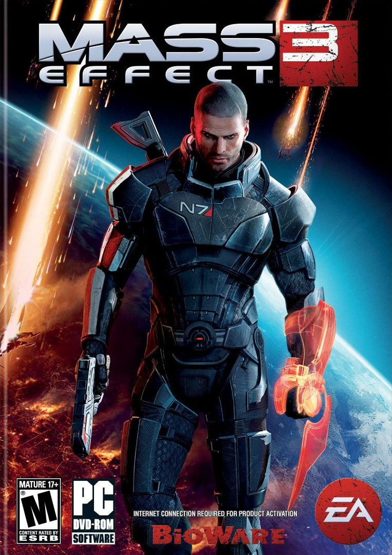 Alternate Covers For Mass Effect Me3 Cover Art Mass Effect