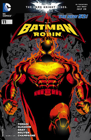 Cover for Batman and Robin #11 (2012)