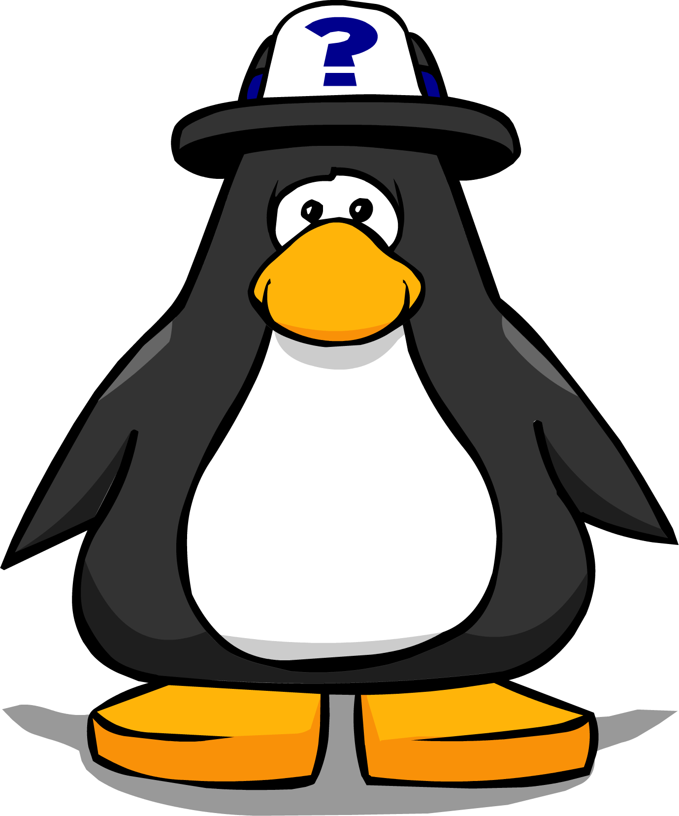 This penguin is so much cuter than her voice.