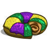 King Cake Clip Art : King Cake-icon