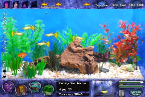 Image canary fire arrow fish tycoon wiki for Fish tycoon 2 guide