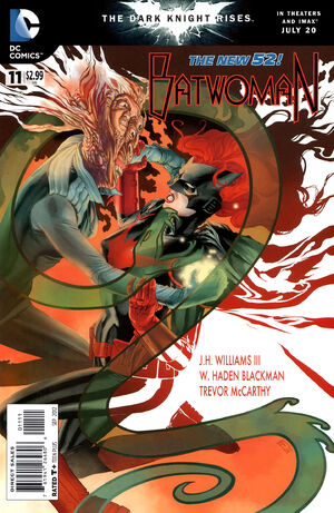 Cover for Batwoman #11 (2012)