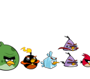 Personajes de Angry Birds Space
