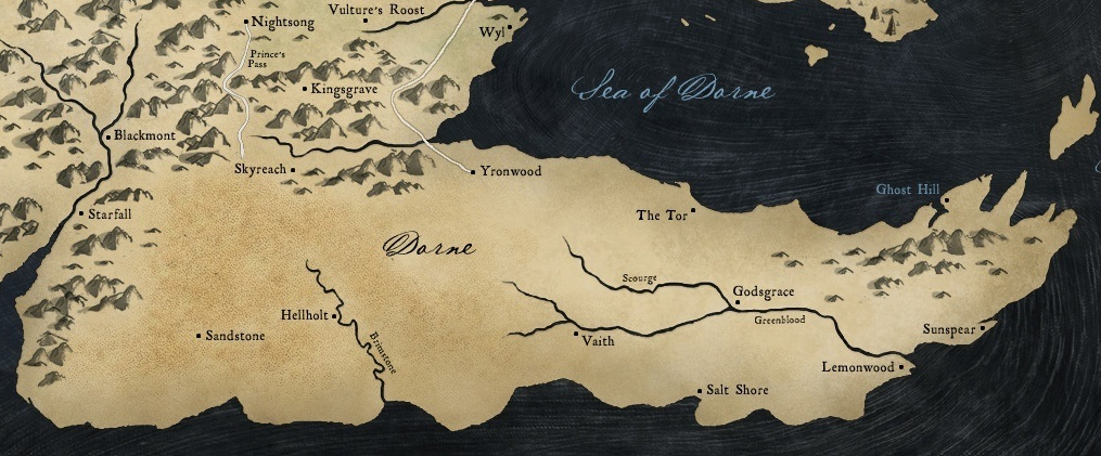 Dorne - Game of Thrones Wiki